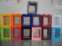 Wholesale 10pcs Fashion WATCH watch box High Quality Plastic Storage Tanks Candy Colors We