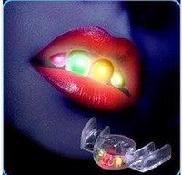 Wholesale 288pcs LED Mouth Guard Flashing Mouth Piece Flashing Mouth GuardTeethwear Mouth Light EMS free