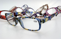 (15pcs/lot) colorful plastic reading glasses many colors lenses power from +1.00 to +4.00 accept mixed order