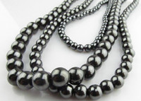 Wholesale 6MM Hematite beads string of beads loose beads Iron gallstone jewelry accessories