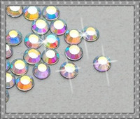 Wholesale AB Crystal Costume Decoration SS20 mm Hotfix Flat Back Rhinestones Loose Beads