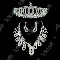 Wholesale New Beautiful Bridal Jewelry Wedding Earring Wedding Necklace Accessories
