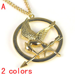 The Hunger Game's Bird Charm Necklace,2colors avaiable NL-1905