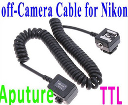 Aputure TTL Off-Camera Sync Remote Flash Cord for Nikon 3M 3 meter cable