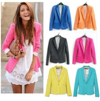 Wholesale Q019 New Womens Tunic Foldable sleeve Blazer tops Jacket Colour Size fit UK AU XS S M L