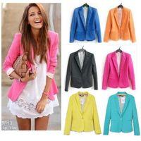 Wholesale Q019 New Womens Tunic Foldable sleeve Blazer tops Jacket Colour Size fit UK AU XS S M L