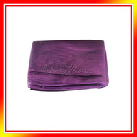 Wholesale Purple Violet Organza Table Overlay Cloth quot X72 quot Wedding Supply Party Sheer Colors New