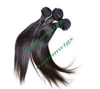 Wholesale Mix Length Brazilian Virgin Remy Weave Human Hair Extensions Straight quot quot quot g B