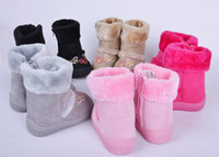 Wholesale 2012 New Baby snow boots years old baby cotton shoes small children cotton boots