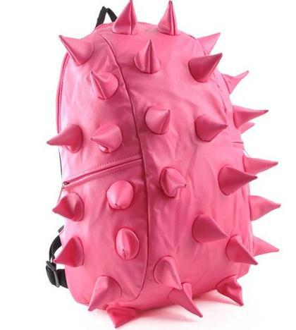 New Punk Hedgehog Spike Boy Girl Backpacks Satchels Shoulder Bags ...