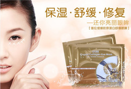 Wholesale EMS pairs Crystal Collagen Eye Skin Mask Patch Anti wrinkle moisture eye care products