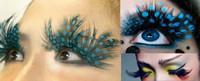 Wholesale Halloween Party Chrismas False Eyelashes Natural Feather False Eyelash extensions