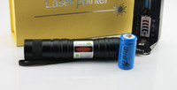 Wholesale 1000mw w nm green laser pointers adjustable burn match battery changer gift box