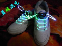 Shoelaces Red as show picture Factory directly sale250piars Latest model LED Flashing shoelace light up shoe laces Laser Shoelaces