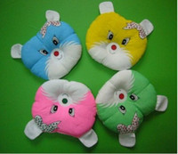 Wholesale Freeshipping Mix Color Cat Bear Baby Pillow Support For Flathead Syndrome Suppo