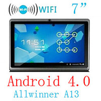 Wholesale 7 Inch Allwinner A13 Android Multi Touch Capacitive Screen Tablet PC M G MID