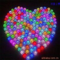 Wholesale 7 Colors Romantic Led Rose Flower Light led illumination roses lamp Christmas gfts EMS free