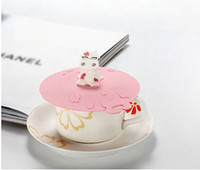 Other silicone cup lid - Cute Cows Beigai Leakproof Silicone Cup Lid Magic Cup Cap