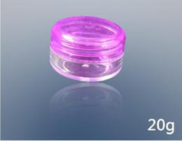 Wholesale 20g Cosmetics Separate Bottle Plastic Bottles PS Mask Jars Facial Cream Bottle Color