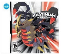 Wholesale Brand New Poke Platinum For NDS DSlite DSi DSi XL LL DS XL Games
