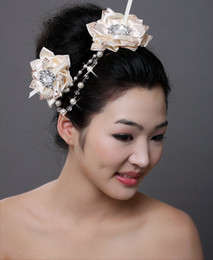 Wholesale Supreme Style Hair Floral Decorations Lovely Crystals Hairpins Bridal Hair Flowers DHgate New