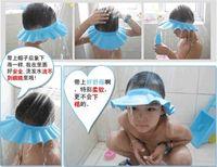 baby shampoo free - New Soft Baby Shampoo Bath cap Kids Children Shower Cap Hat