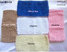 Wholesale 4 inch crochet girl tube halter tops Crochet Tutu Tops Halter Tube