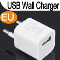 Wholesale USB EU AC Wall Charger Adapter For iPod Touch iPhone G GS G White