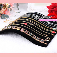 Wholesale Black velvet Display Stand for Bracelet Necklace Jewelry Set Camber Jewel organizer Case Arc Shaped Tray
