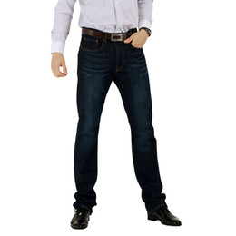 Wholesale Mens Jeans Plus Size High Quality Cotton Fit Straight Leg LowRise Big amp Tall Size28 Inseam32
