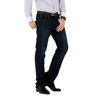 Wholesale Holiday Sale Mens Jeans High Quality Cotton Fit Straight Leg Low Rise Size Inseam30