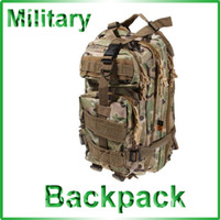 Wholesale Multi function Big Size CP Dual Shoulder Military Tactical Backpack for Outdoor