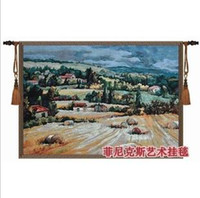 Wholesale The Belgian tapestries household the Tuscan countryside