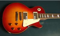 Wholesale best Vintage nice Guitars cherry custom shop mahogany Electric Guitar Chinese guitar Musical Instrum