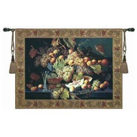 Wholesale Belgium tapestry cotton tapestry grape event
