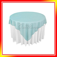 Wholesale Teal Blue Organza Table Overlay Cloth quot X72 quot Wedding Supply Party Sheer Colors New
