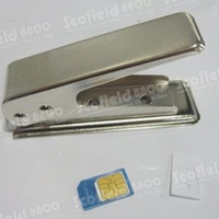 Wholesale Standard or Mico SIM To Nano SIM Card Cutter SIM Adapter to Restore for iPhone