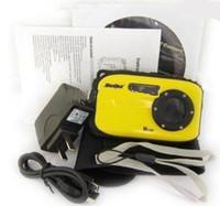 Precio de Camera underwater-2,7 pulgadas de pantalla LCD de alta definición impermeable 10m cámara digital bajo el agua de 12 mega 8x zoom B168 Kakacola Nuevo