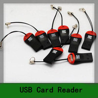 Wholesale 50PCS New USB TF Card Reader For Mini Micro SD HC M2 GB to G