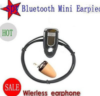 Wholesale Invisible Wireless Micro Mini Spy Earpiece Earphone Bluetooth Earpiece Kakacola New Arrival