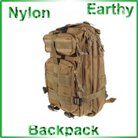 Wholesale BEST qualithy Military Travelling Waterproof Compartments Backpack Bag with Waist Strap Earthy