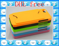 Wholesale Back Case with business card holder Hard Plastic cases covers PC Protector For iphone th G