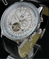 Prezzi Orologi jaragar-all'ingrosso di cuoio jaragar orologio subacqueo uomini meccanici tourbillion mens di lusso, orologi svizzeri automatici