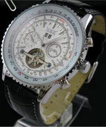 wholesale leather jaragar dive watch men mechanical tourbillion mens luxury swiss watches automatic