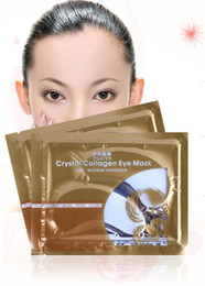 Wholesale EMS pairs Women Crystal Eyelid Patch Crystal collagen eye mask Eye Skin Mask eye care