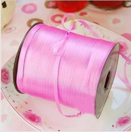 Wholesale Pink balloon ribbons diy accessories ribbon meters