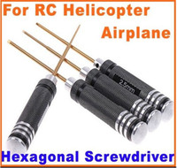 Wholesale RC Tools set hex screw driver set mm screwdriver For helicopter heli toys