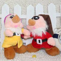 Gift 18cm Snow White Series Plush Toys 7 Inch Seven Dwarfs T...