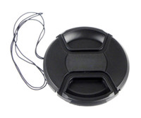 Wholesale Camera lens cap New mm Center Pinch Front Lens Cap for Canon Lens Filters E4005C