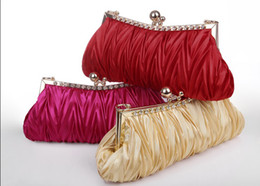 Wholesale hot sale ladies beads multipurpose gorgeous bridal handle clutch bridal Hand bags banquet Bags BE856